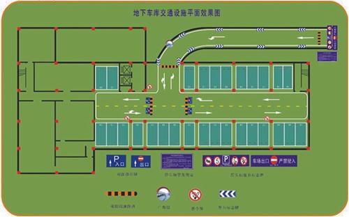 地下车库整体规划与设计